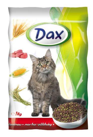Obrázek z Dax Cat granule hovězí se zeleninou 1 kg