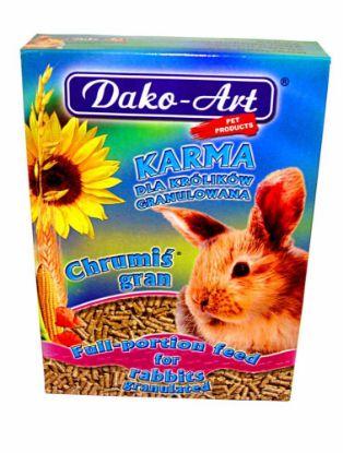 Obrázek Dako Granule králík 500g-10311