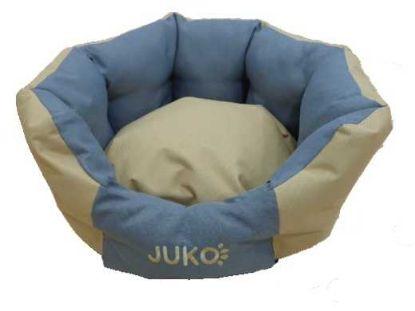 Obrázek Pelíšek odolný JUKO koruna XS:48x42x20cm-Béžová-13812