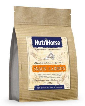 Obrázek NutriHorse Snack (pochoutka pro koně) Carrot 600 g