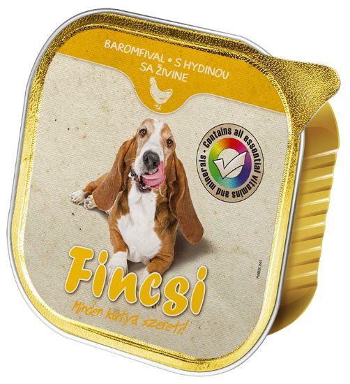 Obrázek z Fincsi Dog vanička Poultry 300g-15383