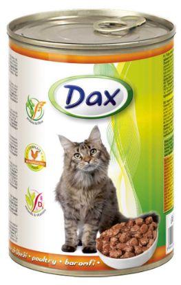 Obrázek DAX  kousky CAT DRŮBEŽÍ 415g-9920