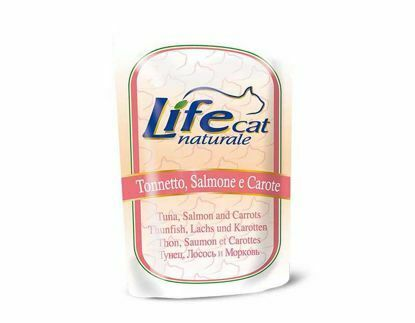 Obrázek Lifecat pouch Tuna, salmon and carrots 70g-10122