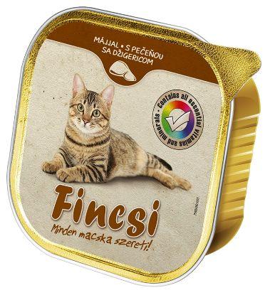 Obrázek Fincsi Cat vanička Liver 100g-15387
