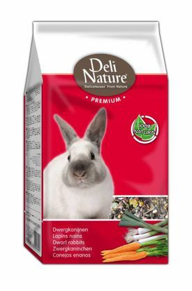 Obrázek Deli Nature Premium DWARF RABBITS  800g-Zakrslý Králík-12987