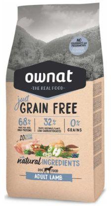 Obrázek OWNAT Dog Just Grain Free Adult Lamb 14 kg