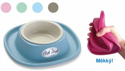 Obrázek Miska plast soft touch malá