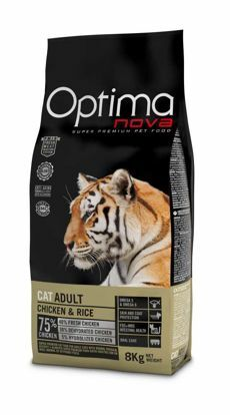 Obrázek OPTIMAnova Cat Adult Chicken & Rice 8 kg