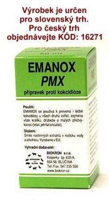Obrázek EMANOX PMX proti kokcidióze 50 ml !SK!