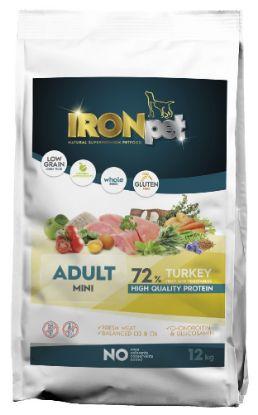 Obrázek IRONpet TURKEY Mini Adult 12kg-14963