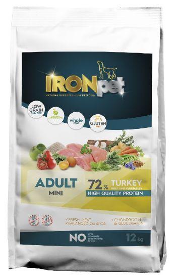 Obrázek z IRONpet TURKEY Mini Adult 12kg-14963