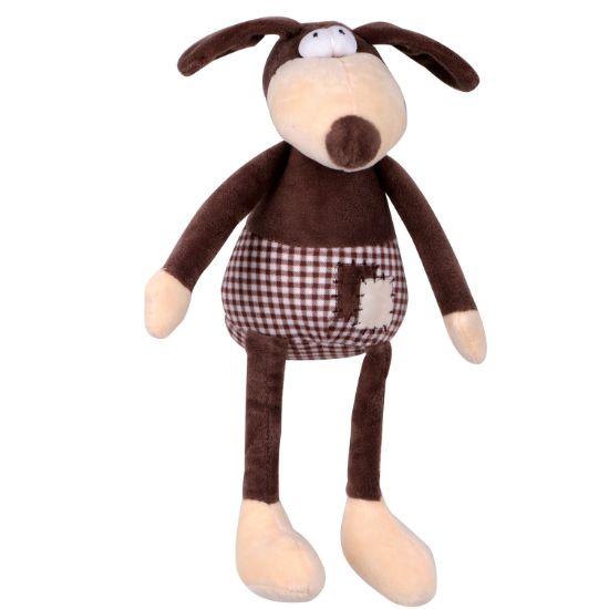 Obrázek z Hračka pes - plyšový pes pískací 30 cm