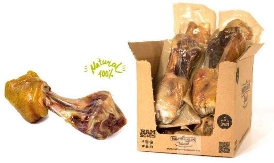 Obrázek z Serrano Mega Meaty Ham Bone - obří masová šunková kost cca 550 g