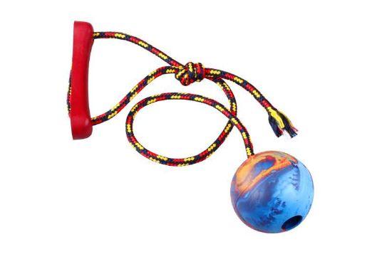 Obrázek z Přetahovadlo míč na šňůře 8 cm