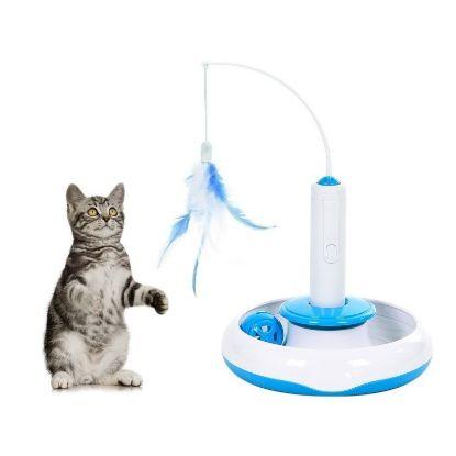 Obrázek Interaktivní hračka 3v1 pro kočku-udice-14971