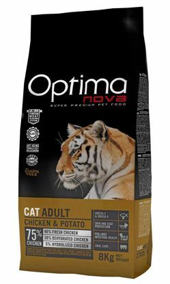 Obrázek OPTIMAnova CAT CHICKEN GRAIN FREE 8kg-11724