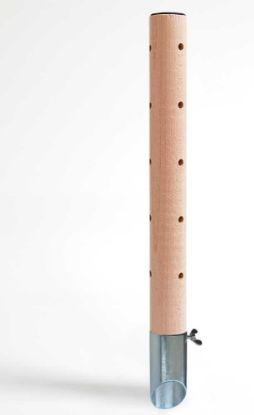 Obrázek Psí pisoár dřevěný•design 2,pozinkov trn-v.40cm-12452