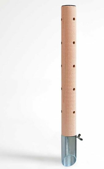 Obrázek z Psí pisoár design 2 dřevěný 40 cm