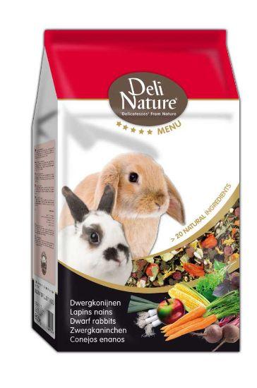 Obrázek z Deli Nature 5 Menu zakrslý králík 2,5 kg