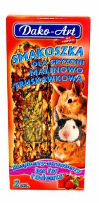Obrázek Dako Tyčinka hlodavec malina,jahoda 2ks-10295