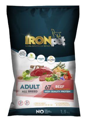 Obrázek IRONpet BEEF Adult All Breed 1,5kg-15266