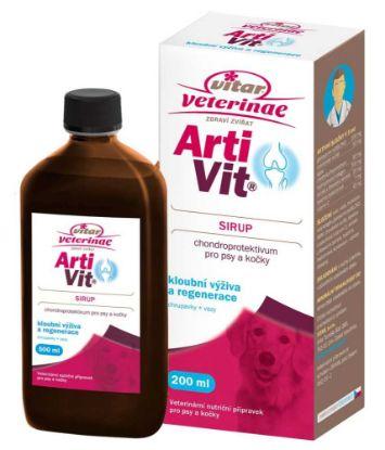 Obrázek Vitar veterinae Artivit Sirup 200ml-12302