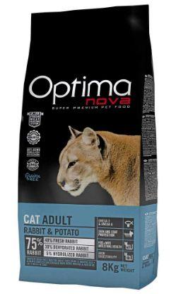 Obrázek OPTIMAnova Cat Rabbit & Potato GF 8 kg