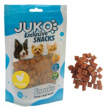 Obrázek JUKO SNACKS Chicken with carrot and celery 70 g