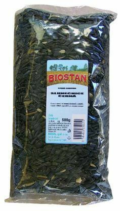 Obrázek Slunečnice  černá Biostan 500g-1687
