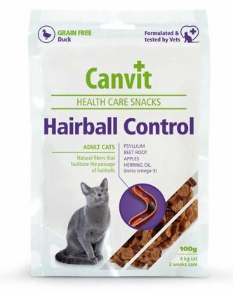 Obrázek Canvit SNACKS Cat Hairball Control 100 g