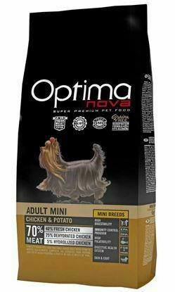 Obrázek OPTIMAnova Dog Adult Mini Chicken & Potato GF 2 kg