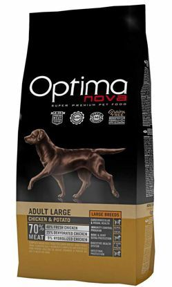 Obrázek OPTIMAnova Dog Adult Large Chicken & Rice GF 12 kg