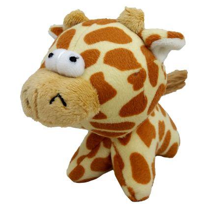 Obrázek Hračka pes - plyšová žirafa pískací 12 cm