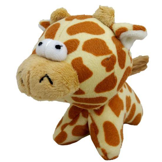 Obrázek z Hračka pes - plyšová žirafa pískací 12 cm
