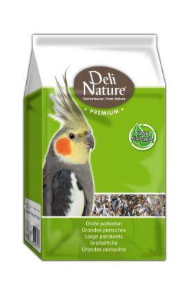 Obrázek Deli Nature Premium PARAKEETS 1kg- Papoušek-12960