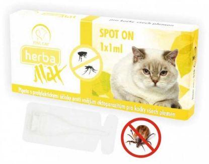 Obrázek Max Herba-SPOT ON CAT 1x1ml- Fine cat-10685