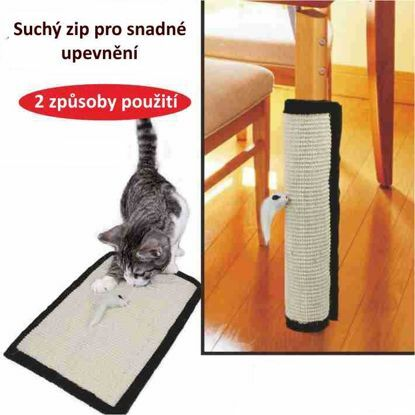 Obrázek Variabilní škrábadlo na nohy stolu/židle-44,5x30m-12745