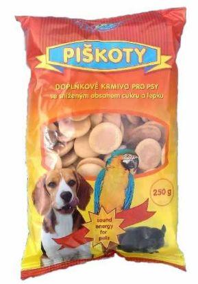 Obrázek Piškoty krmné Tobby 250 g