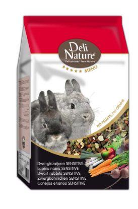 Obrázek Deli Nature 5 Menu zakrslý králík sensitive 2,5kg
