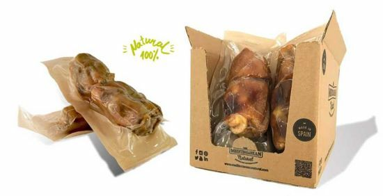 Obrázek z Serrano Half Mega Meaty Ham Bone - poloviční obří šunková kost cca 550 g (2 ks)