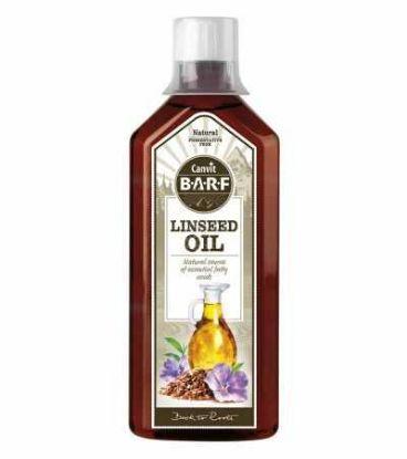 Obrázek Canvit BARF Line Linseed Oil (lněný olej) 500 ml