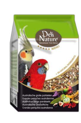 Obrázek Deli Nature 5 Menu AUSTRALIAN PARAKEETS 2,5kg-Australský Papoušek-12975