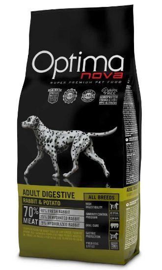 Obrázek z OPTIMAnova Dog Adult Digestive Rabbit GF 12 kg
