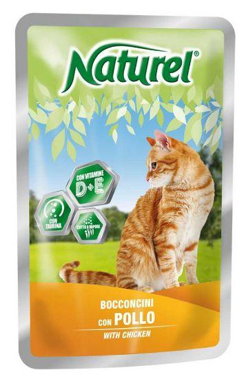 Obrázek z Naturel Cat Chicken, kapsička 100 g