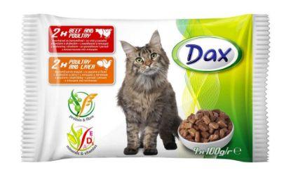Obrázek DAX kapsa CAT 4-pack 100g v omáčce-11988-!CZ!