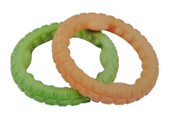 Obrázek z Plovací kruh z Eva pěny hračka pro psy - 18cm-14974