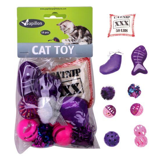 Obrázek z Hračka kočka mix (10 ks)
