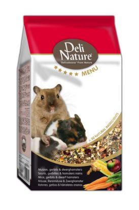 Obrázek Deli Nature 5 Menu myš, pískomil, zakrslý křeček 750 g