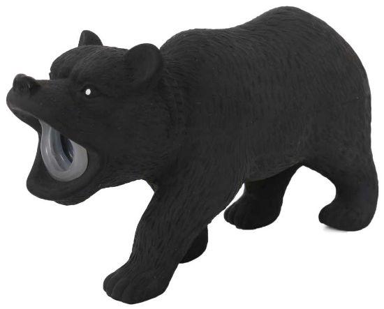 Obrázek z Latexový medvěd s pískadlem 15x5x9 cm