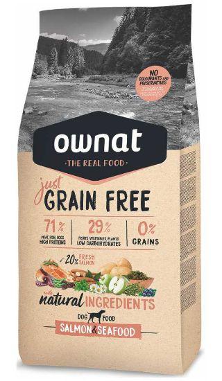 Obrázek z OWNAT Dog Just Grain Free Salmon & Seafood 3 kg
